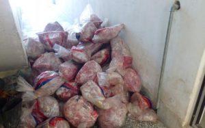 گوشت مرغ کشف ۲۰۰کیلو فرآورده خام دامی در نجف آباد کشف ۲۰۰کیلو فرآورده خام دامی در نجف آباد                 1 300x187