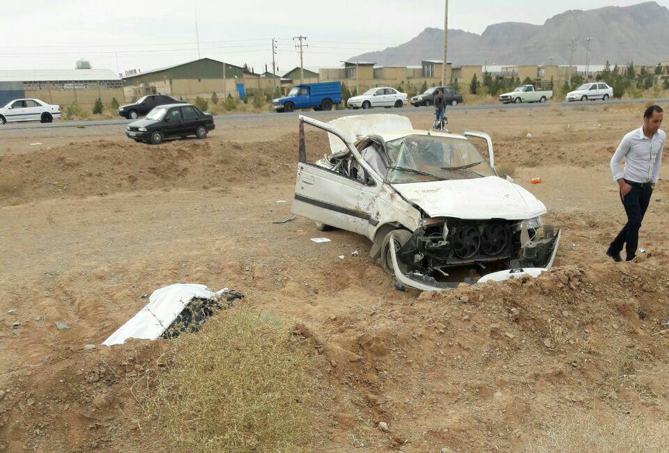 تصادف۲خودرو در نجف آباد، ۱۲ مصدوم داشت