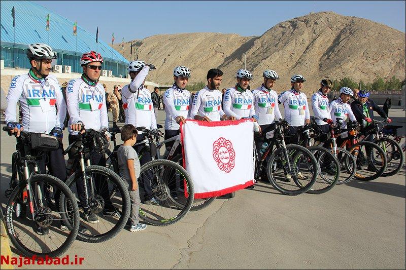 ۱۱دوچرخه سوار نجف آبادی «مشهدی» شدند ۱۱دوچرخه سوار نجف آبادی «مشهدی» شدند ۱۱دوچرخه سوار نجف آبادی «مشهدی» شدند