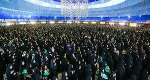 مراسم شیرخوارگان حسینی درنجف آباد