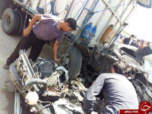 تصادف تکرار تکرار تصادف مرگبار در اتوبان شهید کاظمی            4 300x225