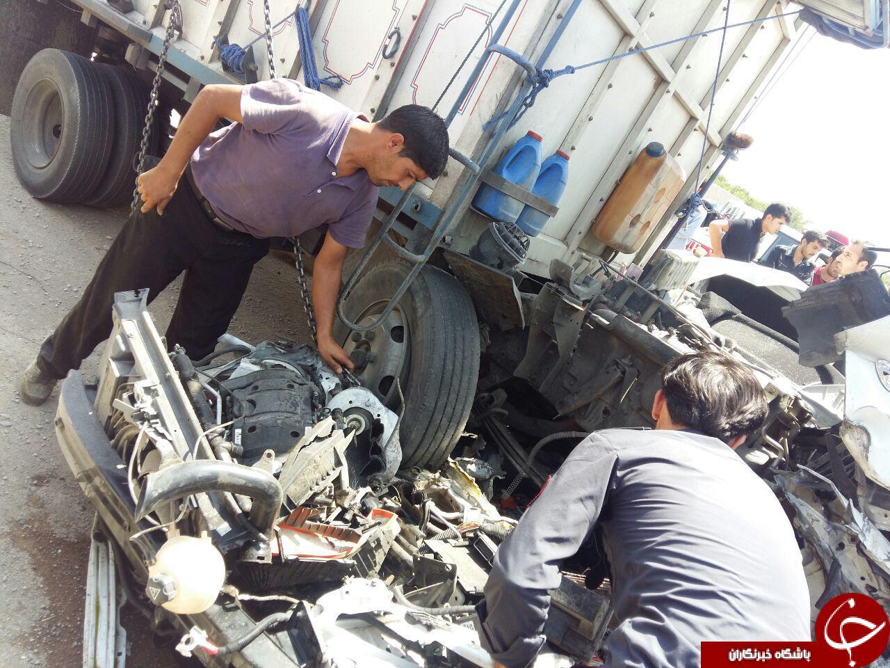 تکرار تصادف مرگبار در اتوبان شهید کاظمی تکرار تکرار تصادف مرگبار در اتوبان شهید کاظمی            4