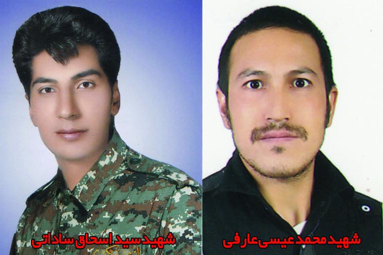 تشییع ۲ شهید مدافع حرم در نجف آباد+ تصاویر