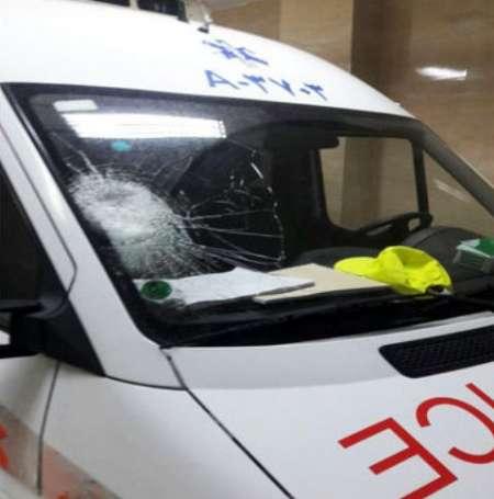 حمله به یک آمبولانس در نجف آباد حمله به یک آمبولانس در نجف آباد حمله به یک آمبولانس در نجف آباد