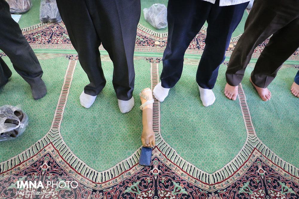 نماز عید فطر نجف آباد+تصاویر