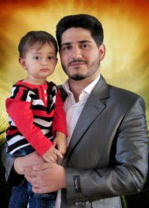 شهید مدافع حرم مصاحبه مصاحبه با همسر شهید مدافع حرم علیرضا نوری+ دانلود فیلم                                2 214x300