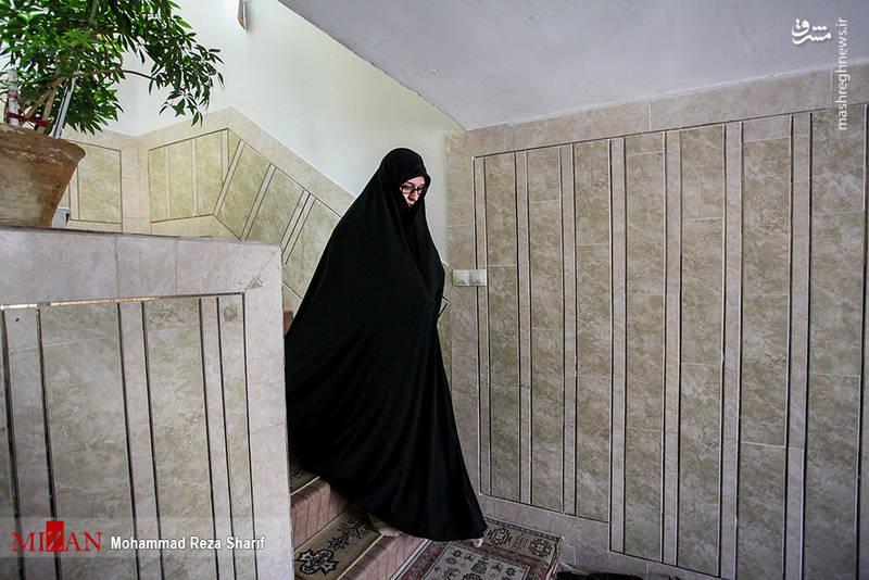 همسر محسن حججی:سَرش رفت تا روسری نرود