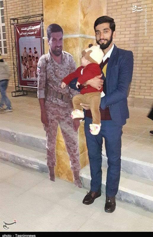 سلفی محسن با شهدای مدافع حرم لشکر۸