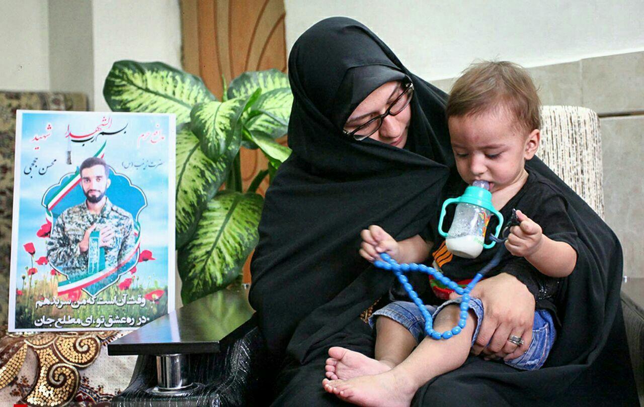 روایتی از زندگی مشترک محسن حججی