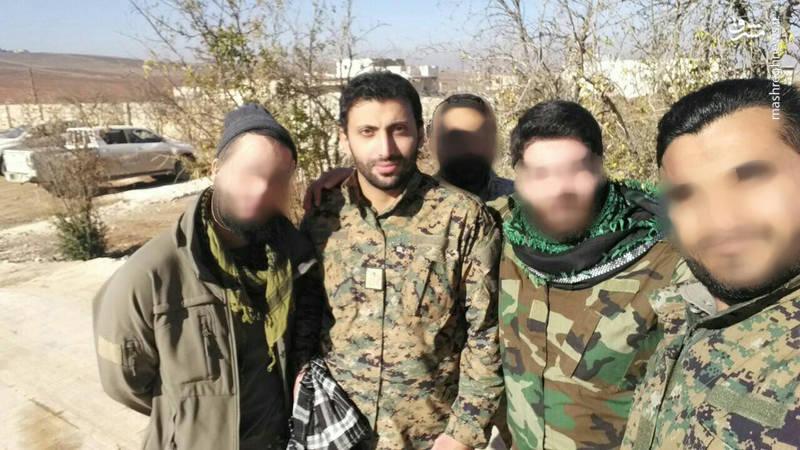 شهادت یک فرمانده لشکر،  قبل از اسارت حججی+تصاویر