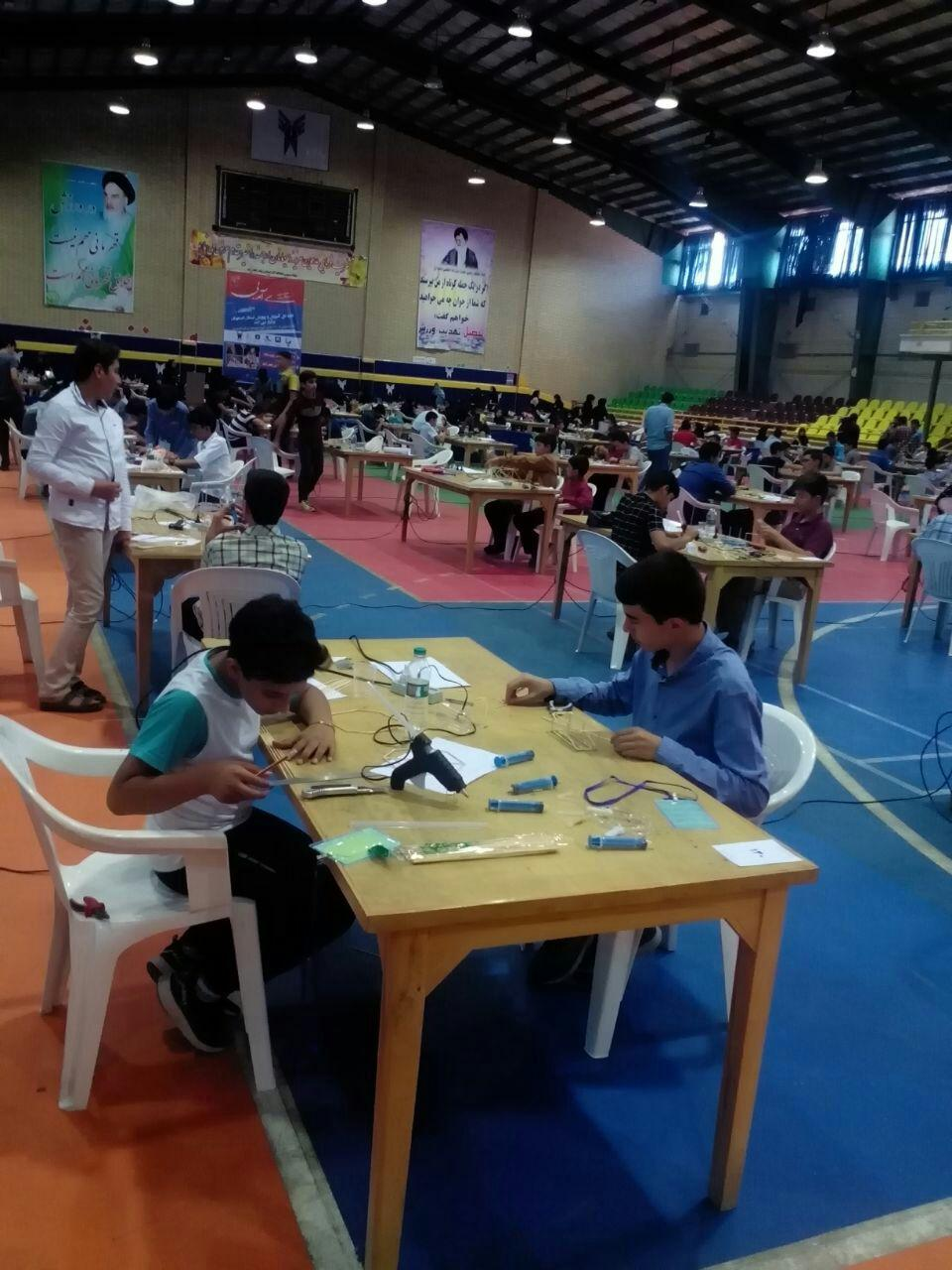 برگزاری مسابقاتسازه های آمپولی درنجف آباد