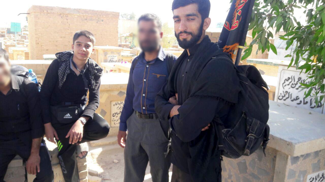 برپایی موکب مردمی شهید حججی در کربلا برپایی موکب مردمی شهید حججی در کربلا برپایی موکب مردمی شهید حججی در کربلا                         5