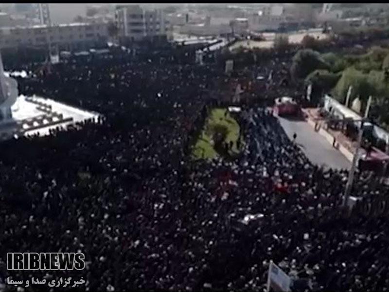 فیلم های مراسم تشییع و تدفین شهید حججی (سری سوم)