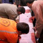 تعویض سنگ مزار شهید حججی+ تصاویر تعویض سنگ مزار شهید حججی+ تصاویر                                              150x150