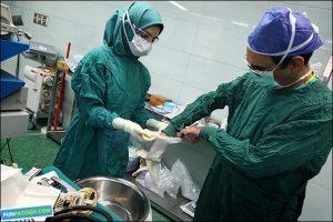 عمل جراحی انجام انجام سالیانه ۲هزار عمل جراحی در نجف آباد                   300x200