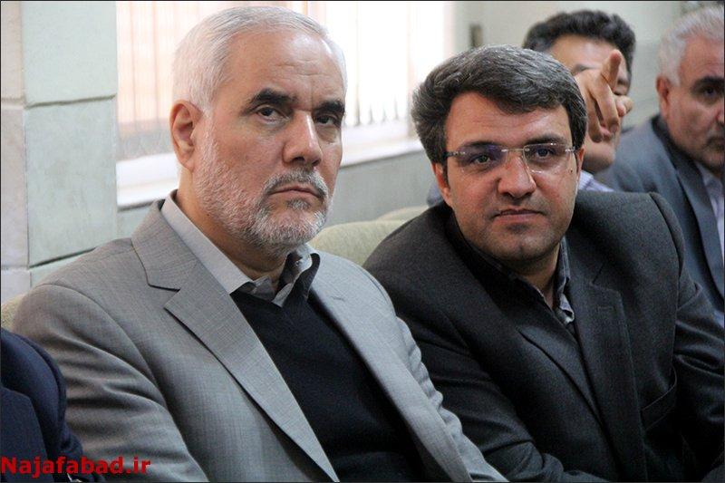 تجلیل استاندار جدید اصفهان از ریل باس نجف آباد