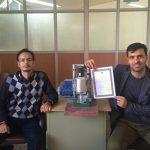 دستگاهی که برای اولین بار در نجف آباد ساخته شد دستگاهی که برای اولین بار در نجف آباد ساخته شد                                   2 150x150