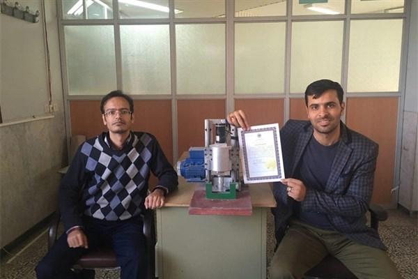 دستگاهی که برای اولین بار در نجف آباد ساخته شد