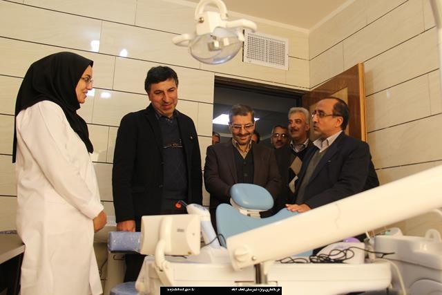 افتتاح دو مرکز جامع سلامت در روستاهای نجف آباد
