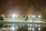 برف نوبرانه نجف آباد+ تصاویر