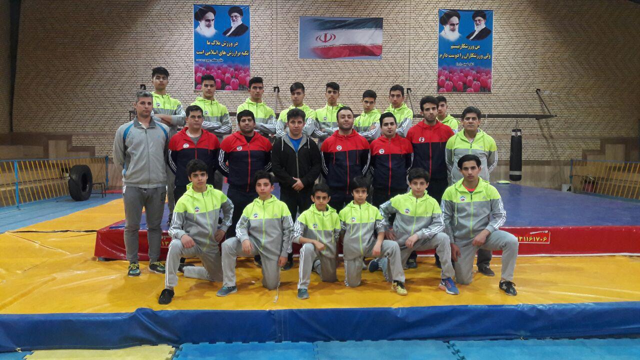 اعزام ووشوی نجف آباد به انتخابی تیم ملی