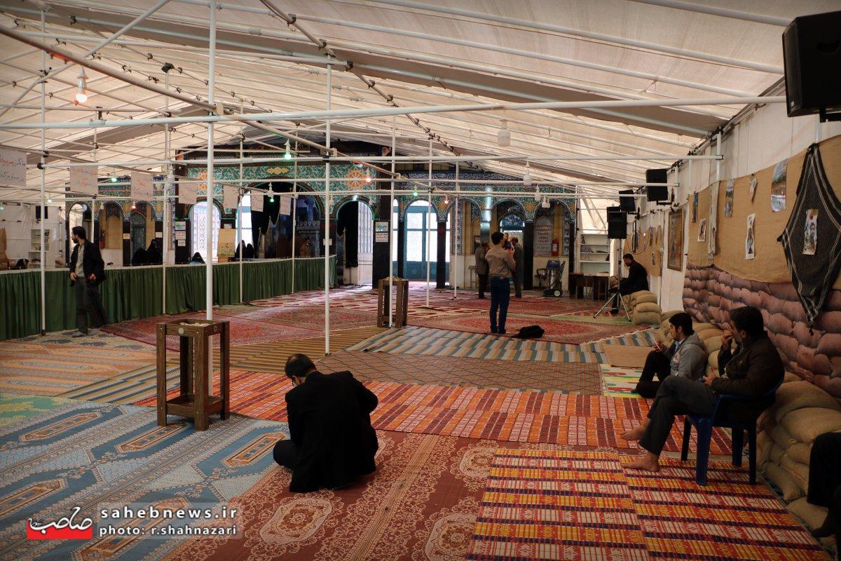 انتقاد از مدیریت یادمان شهدای نجف آباد