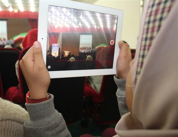 تقدیر از برترین های ابتدایی نجف آباد در سما+تصاویر