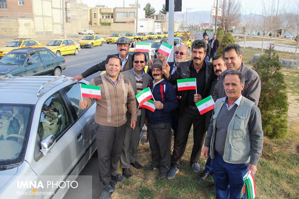 راهپیمایی ۲۲بهمن نجف آۤباد در سال۹۶ راهپیمایی ۲۲بهمن نجف آباد+تصاویر راهپیمایی ۲۲بهمن نجف آباد+تصاویر                                                                   25