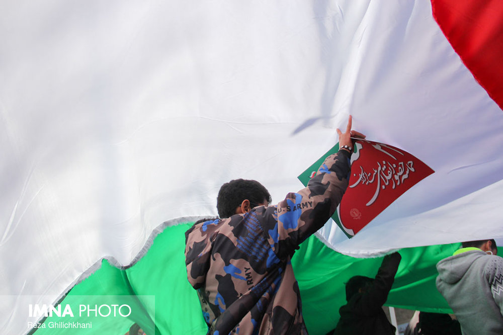 راهپیمایی ۲۲بهمن نجف آۤباد در سال۹۶ راهپیمایی ۲۲بهمن نجف آباد+تصاویر راهپیمایی ۲۲بهمن نجف آباد+تصاویر                                                                   27