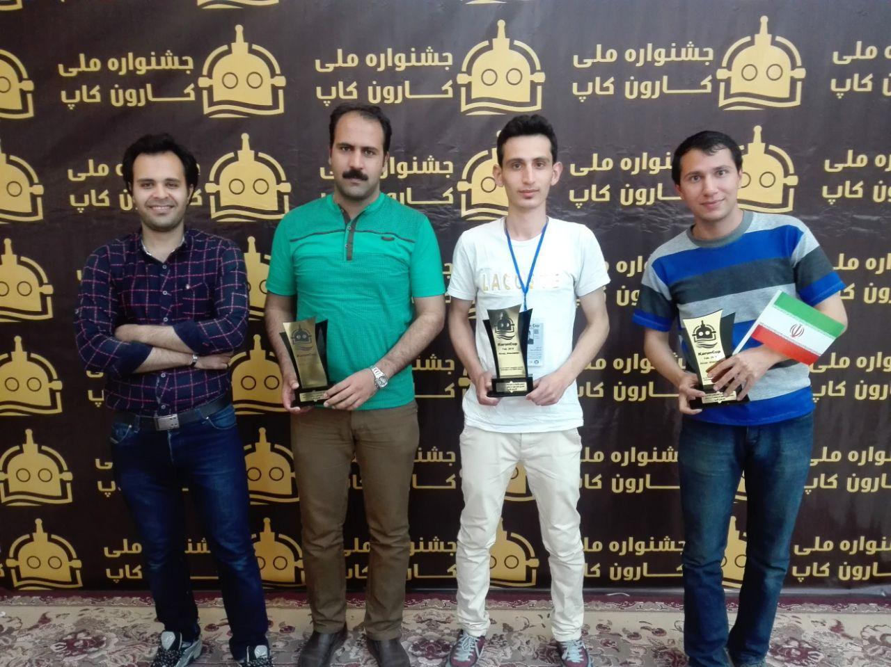 نجف آباد قهرمان لیگ زیردریایی شد+تصاویر