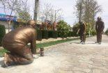المان های نوروزی نجف آباد+ تصاویر  المان های نوروزی نجف آباد+ تصاویر