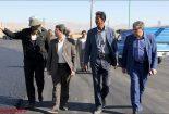 اجرای متفاوت ترین آسفالت در نجف آباد