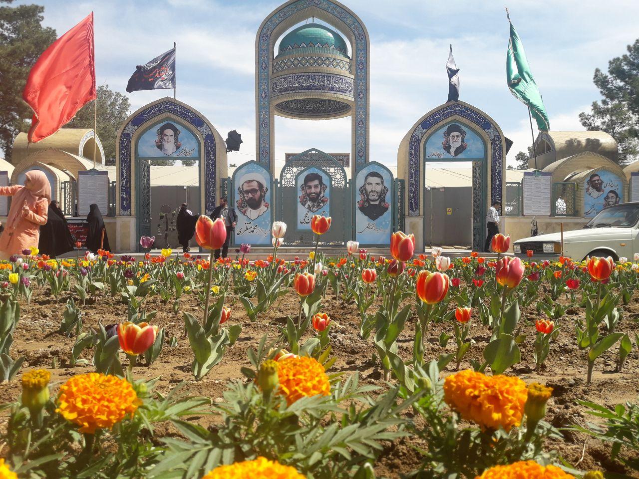 مراسم احیاء شب های قدر در یادمان شهدا+ کلیپ