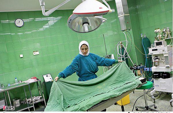 افتتاح اتاق عمل بیمارستان شهید منتظری