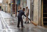 بارندگی در نجف آباد، ۶برابر شد