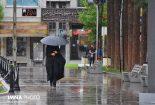 روز بارانی نجف آباد+ تصاویر