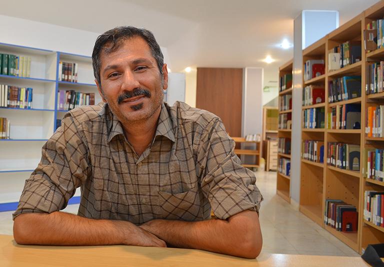 سلمان باهنر  نویسنده نویسنده نجف آبادی در جشنواره آب سوم شد                       2