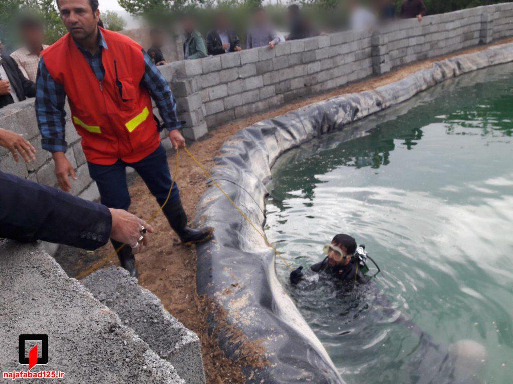 سقوط پیرمرد در استخر در نجف آباد نجات کارگر و مرگ پیرمرد در نجف آباد+تصاویر نجات کارگر و مرگ پیرمرد در نجف آباد+تصاویر                                       2 1024x768