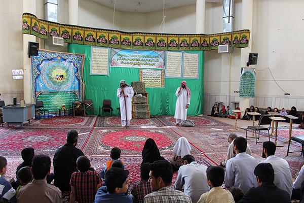 نمایش «بنده آزاد» در مساجد نجف آباد