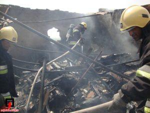 آتش سوزی در انبار ضایعات در نجف آباد آتش سوزی انبار ضایعات در نجف آباد+تصاویر آتش سوزی انبار ضایعات در نجف آباد+تصاویر                                              3 300x225