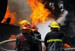انفجار کوره در نجف آباد  انفجار کوره در نجف آباد                       155x105
