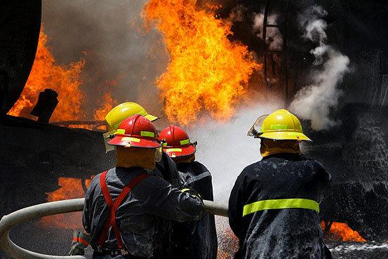 انفجار کوره در نجف آباد