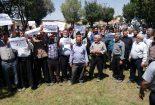 تجمع اعتراضی کشاورزان نجف آباد