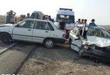 کشته و زخمی شدن پنج نفر در کمربندی نجف آباد کشته کشته و زخمی شدن پنج نفر در کمربندی نجف آباد            155x105