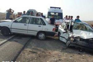تصادف کشته کشته و زخمی شدن پنج نفر در کمربندی نجف آباد            300x199