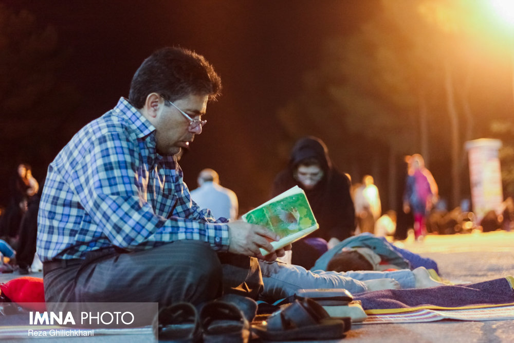 مراسم احیاء در گلزار شهدا نجف آباد در سال 97 احیاء بیست و سه رمضان نجف آباد در سال۹۷+تصاویر احیاء بیست و سه رمضان نجف آباد در سال۹۷+تصاویر                                                10