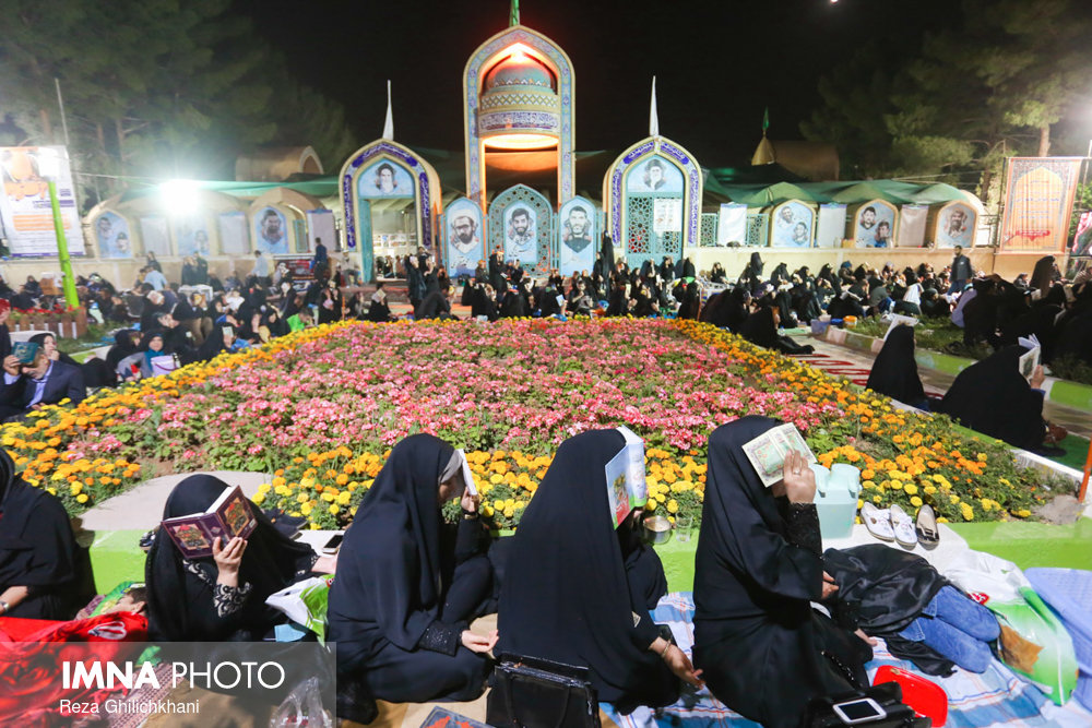 احیاء بیست و سه رمضان نجف آباد در سال۹۷+تصاویر