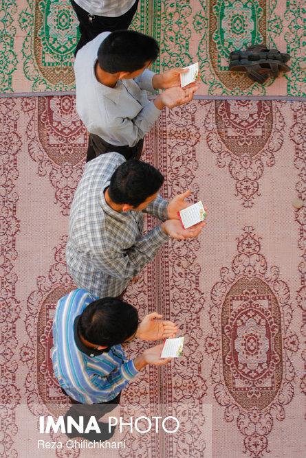 نماز عید فطر در نجف آباد نماز عید فطر نجف آباد+تصاویر نماز عید فطر نجف آباد+تصاویر                                             23