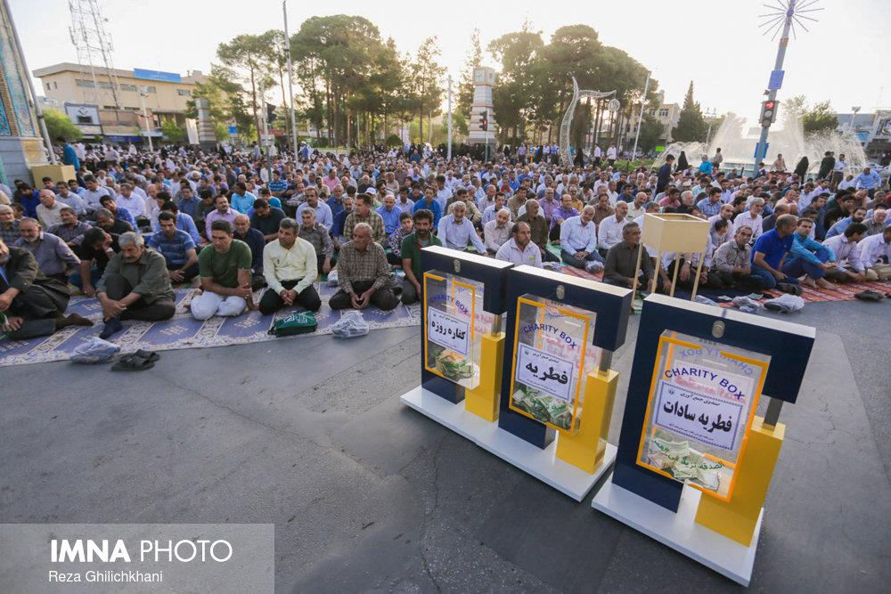 نماز عید فطر در نجف آباد نماز عید فطر نجف آباد+تصاویر نماز عید فطر نجف آباد+تصاویر                                             7