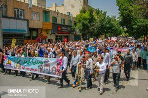 راهپیمایی روز قدس نجف آباد. سال 97 راهپیمایی روز قدس نجف آباد در سال۹۷+تصاویر راهپیمایی روز قدس نجف آباد در سال۹۷+تصاویر 1510180 300x200